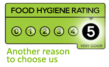5 Hygiene Rating